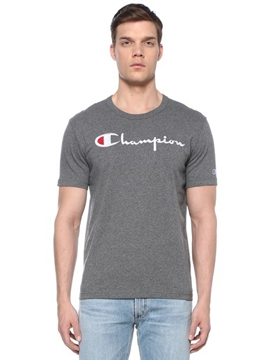 Champion Tişört Gümüş